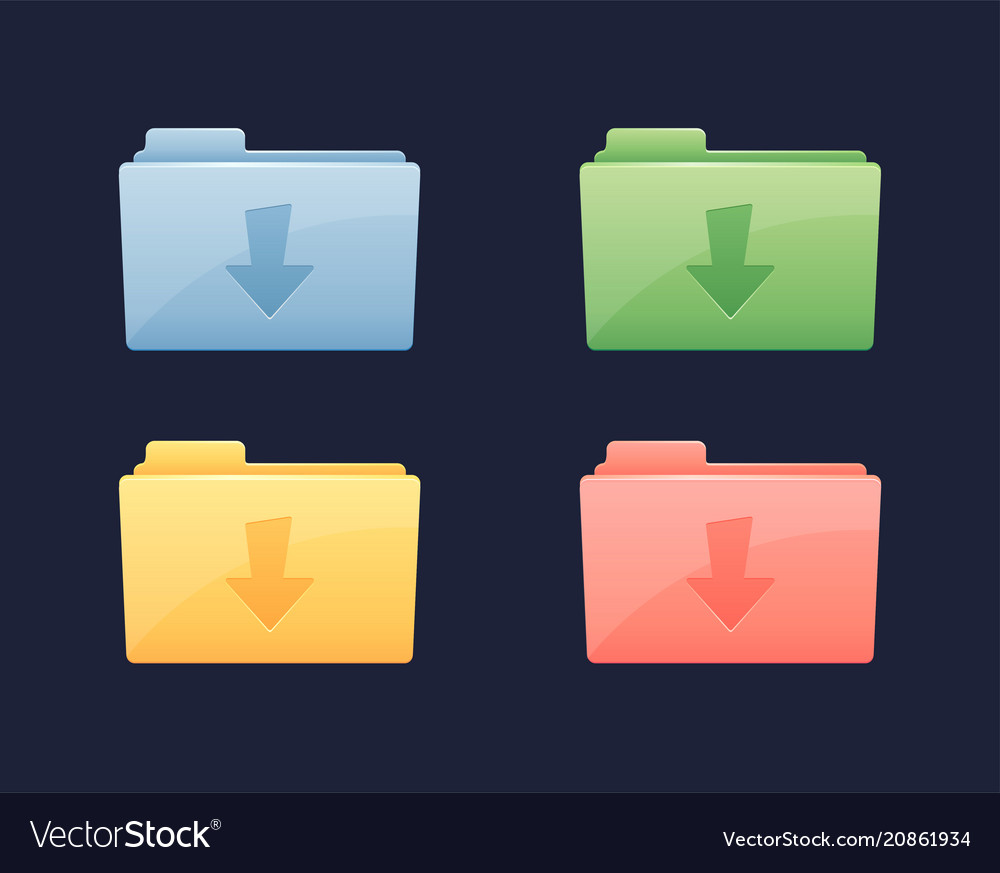 Download data folder icon folder with