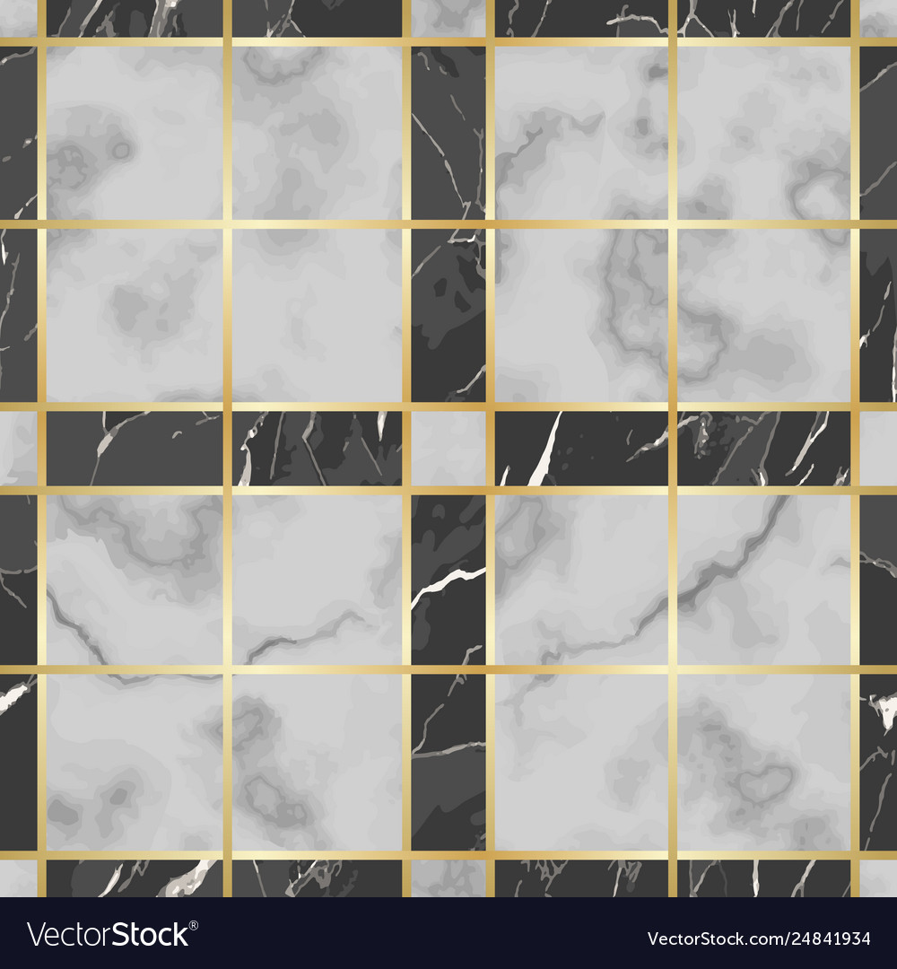 Marble Texture Luxury Check Seamless Royalty Free Vector