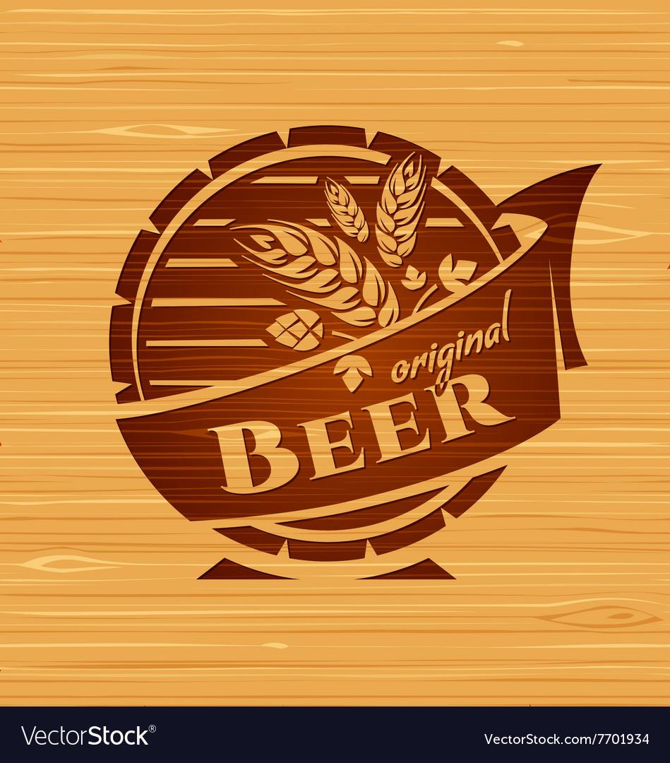 Template beer emblem
