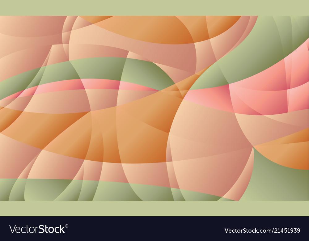 Concept geometric pastel color background