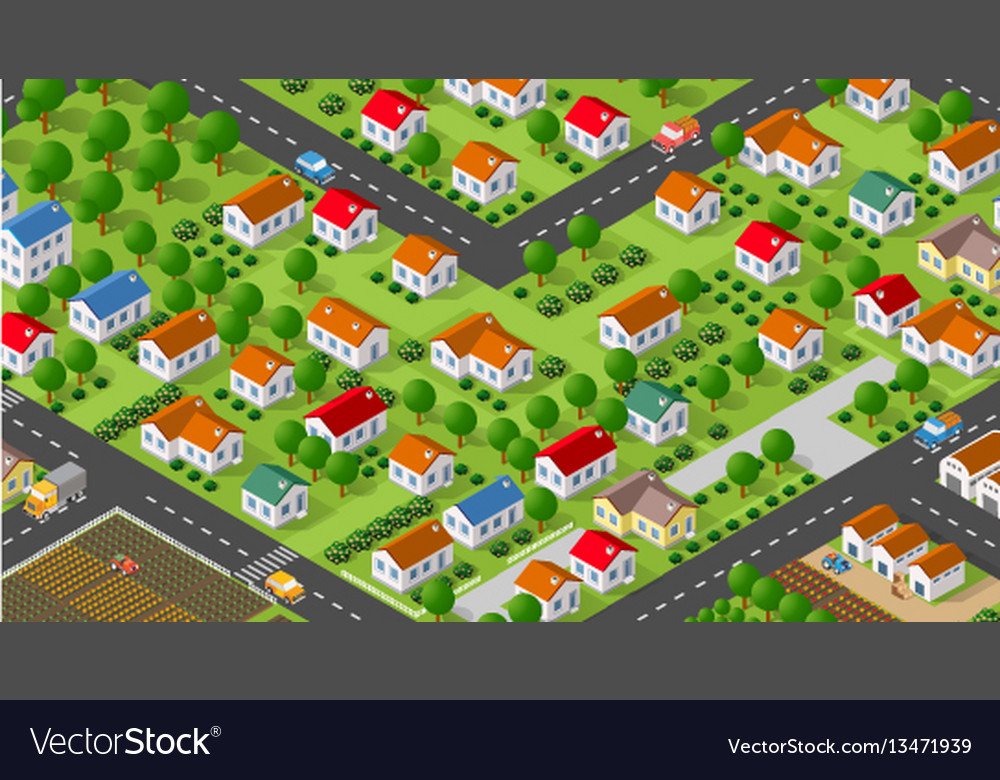 Country village district