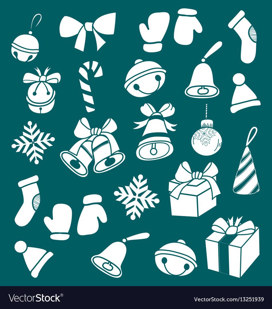 Dooddle christmas elements