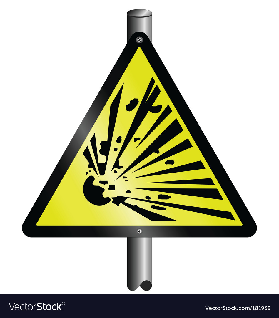 Explosive vectorExplosive Symbol Vector
