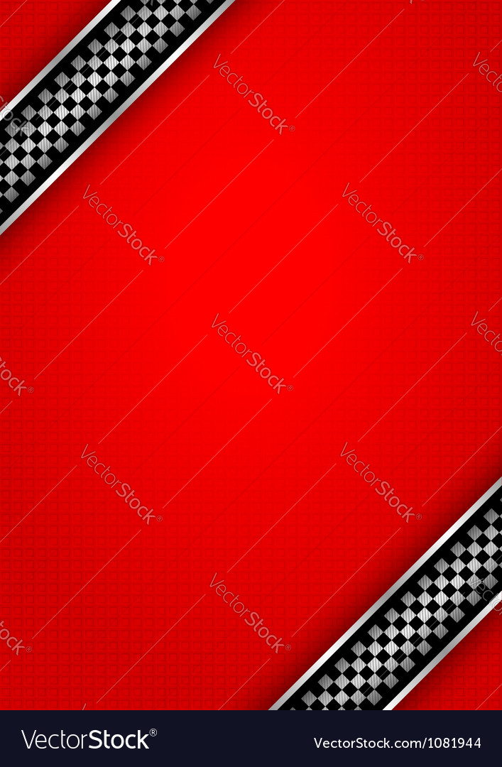 Background red - race