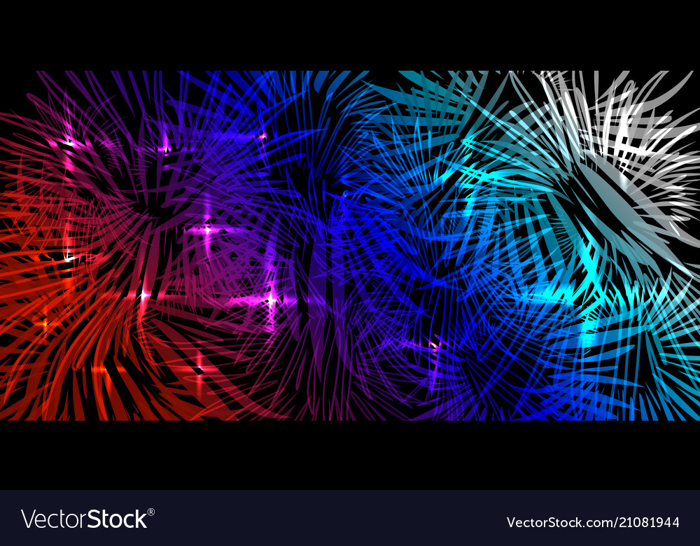 Blue and red tricolor background in lights and