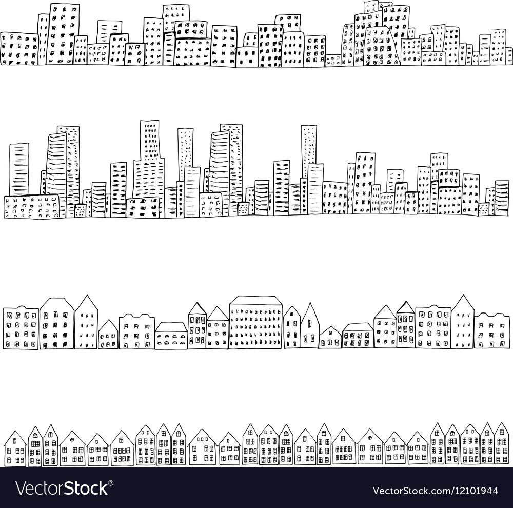 City doodle line