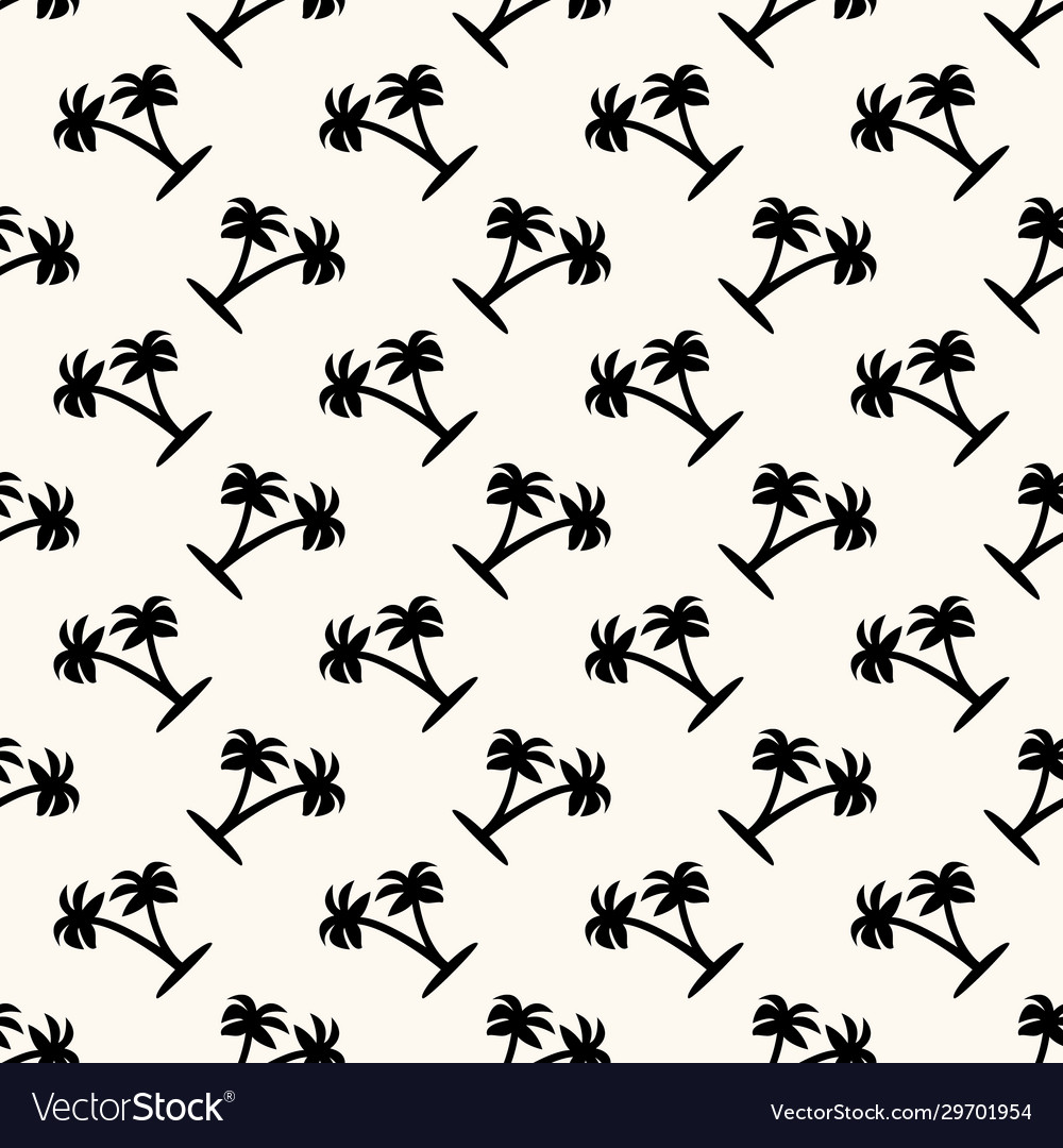 Seamless geometric pattern with silhouettes
