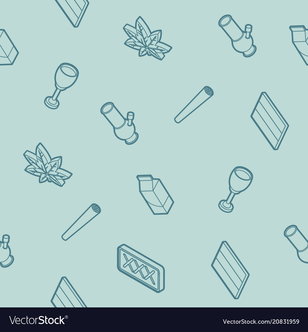 Holland outline isometric pattern