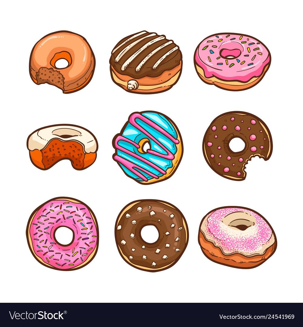 Cute doughnut