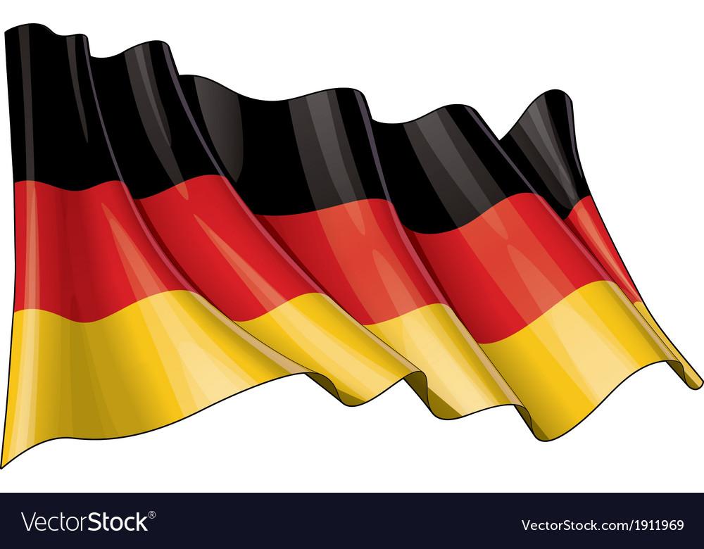 Germany National Flag vector image