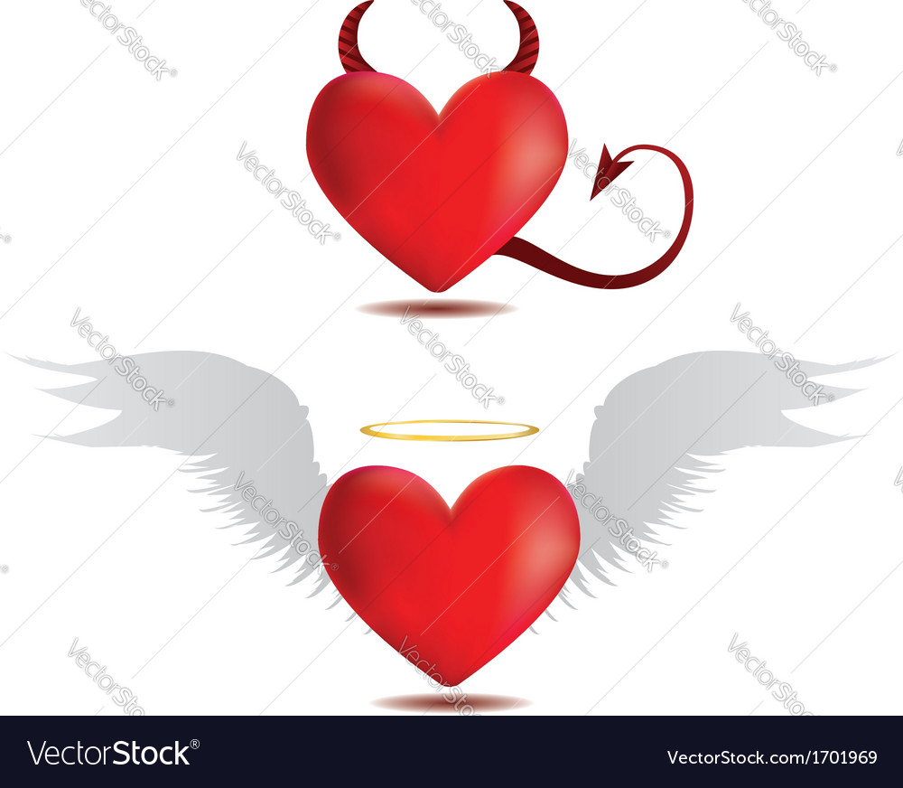 Good and evil hearts Royalty F...