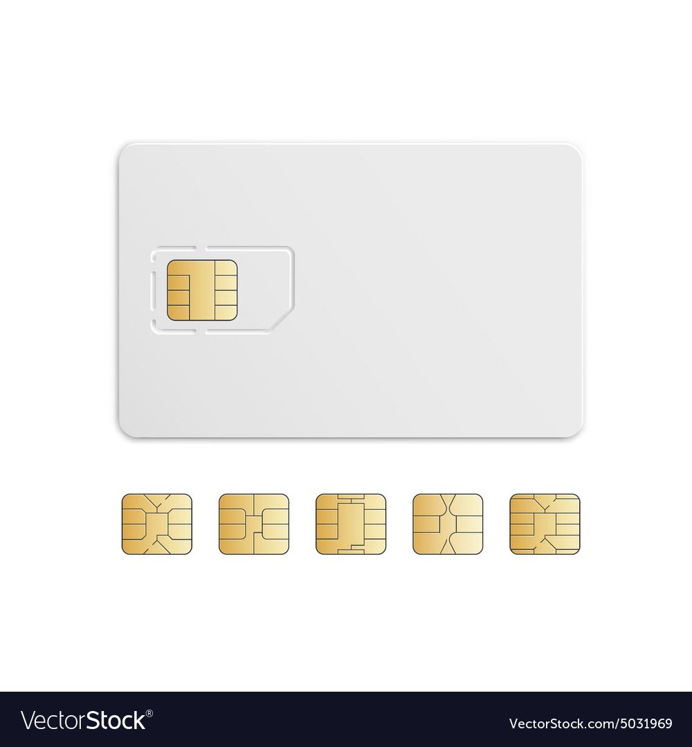 Mobile Cellular Phone Sim Card Chip Set