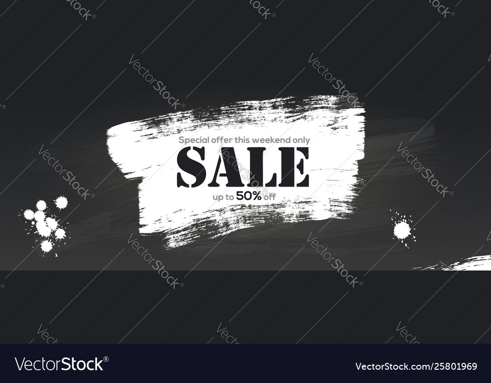 Sale creative billboard for ad sales