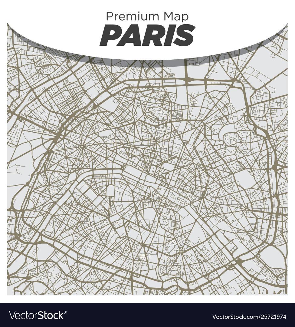 Flat, Urban, City, Map, Of, Paris & France Vector Images (51)