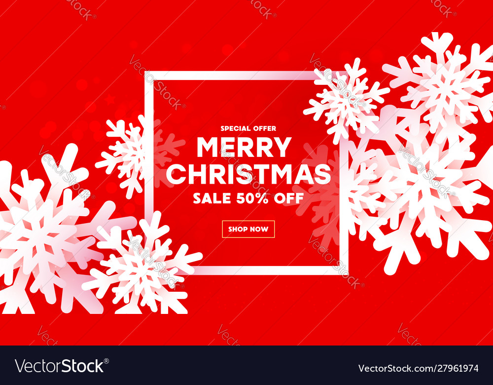 Modern creative background merry christmas and