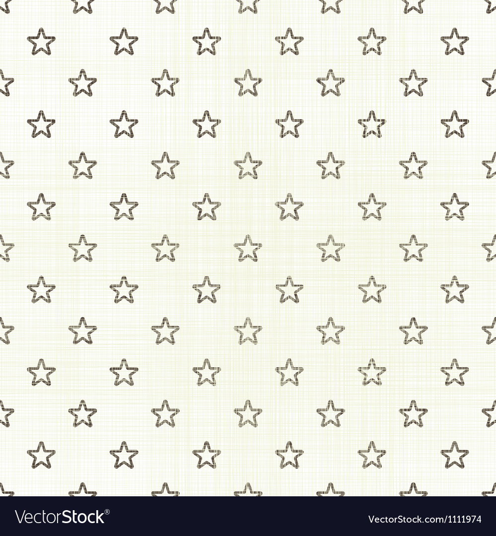 Small Star Pattern On Light Background Vector Image