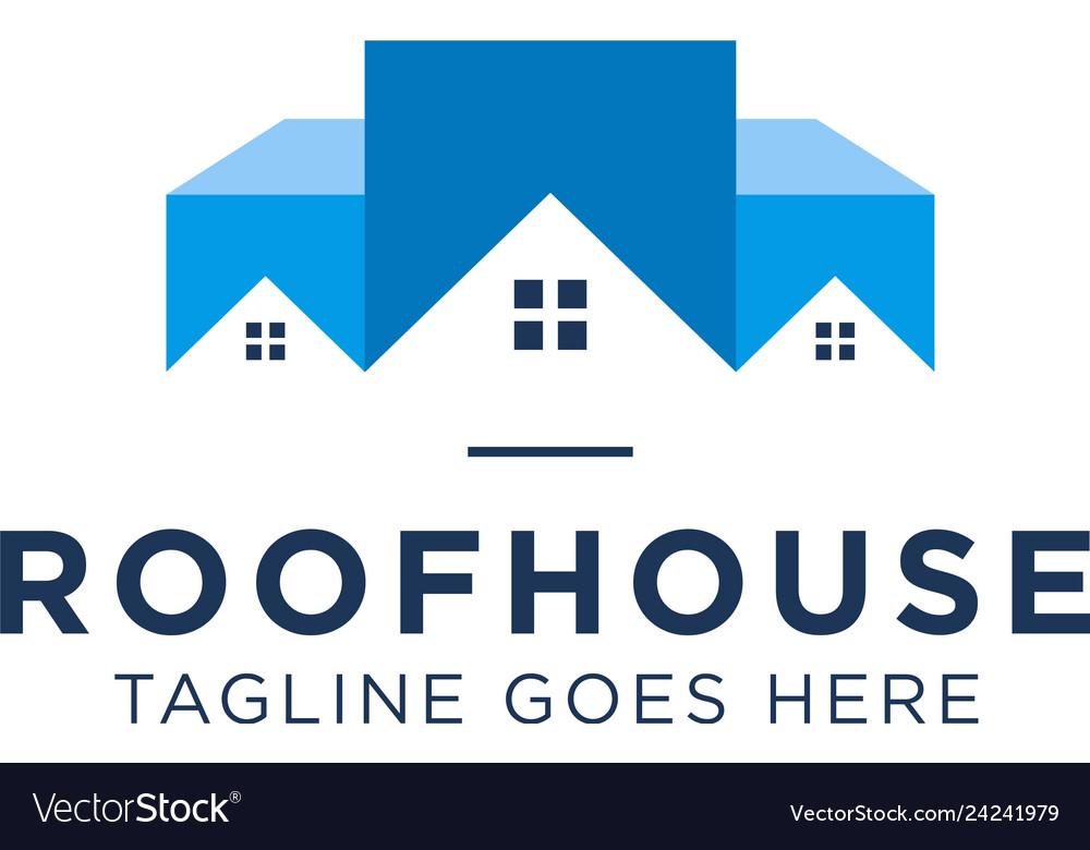 Roof house logo design inspiration