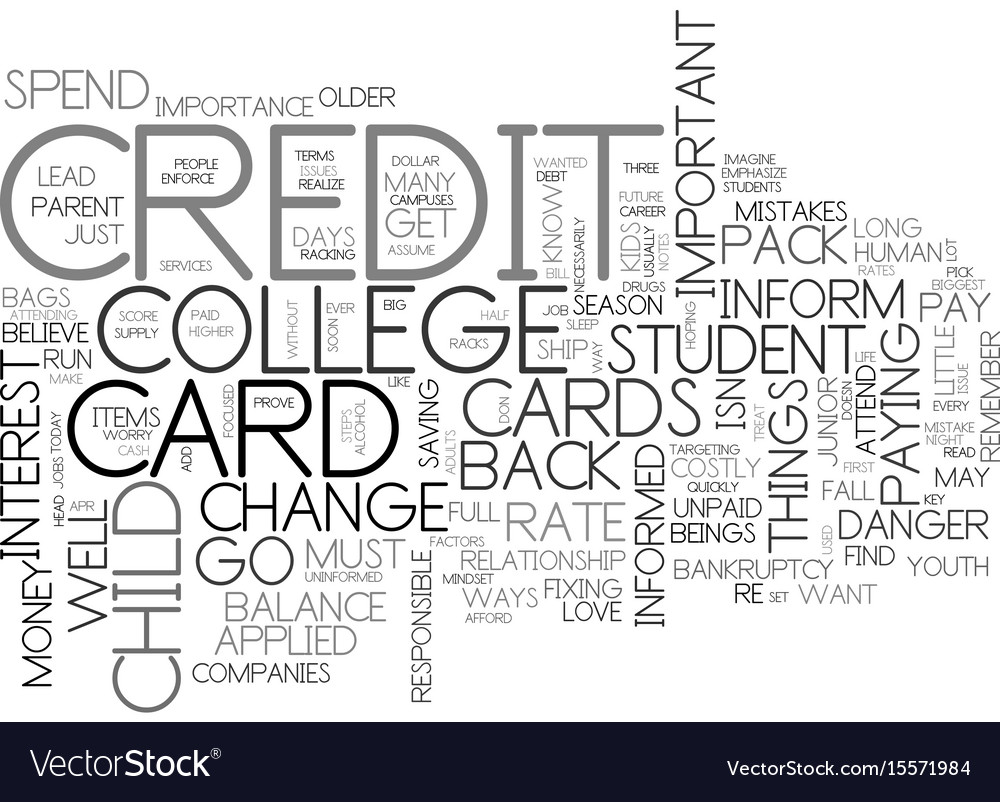 Are credit cards a big danger text word cloud