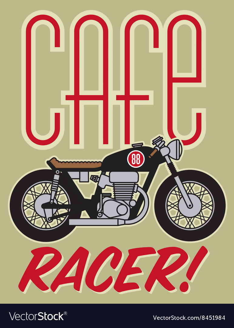 Cafe Racer Motorcycle Design