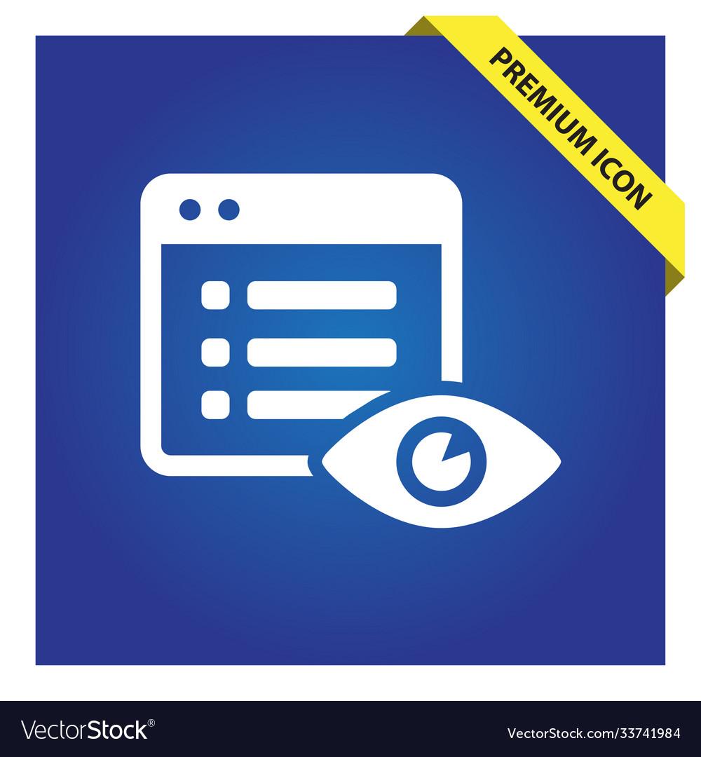 File hide icon