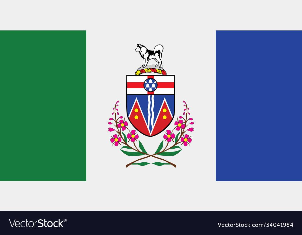 Canada Canadian Flag Province Yukon YT Cufflinks