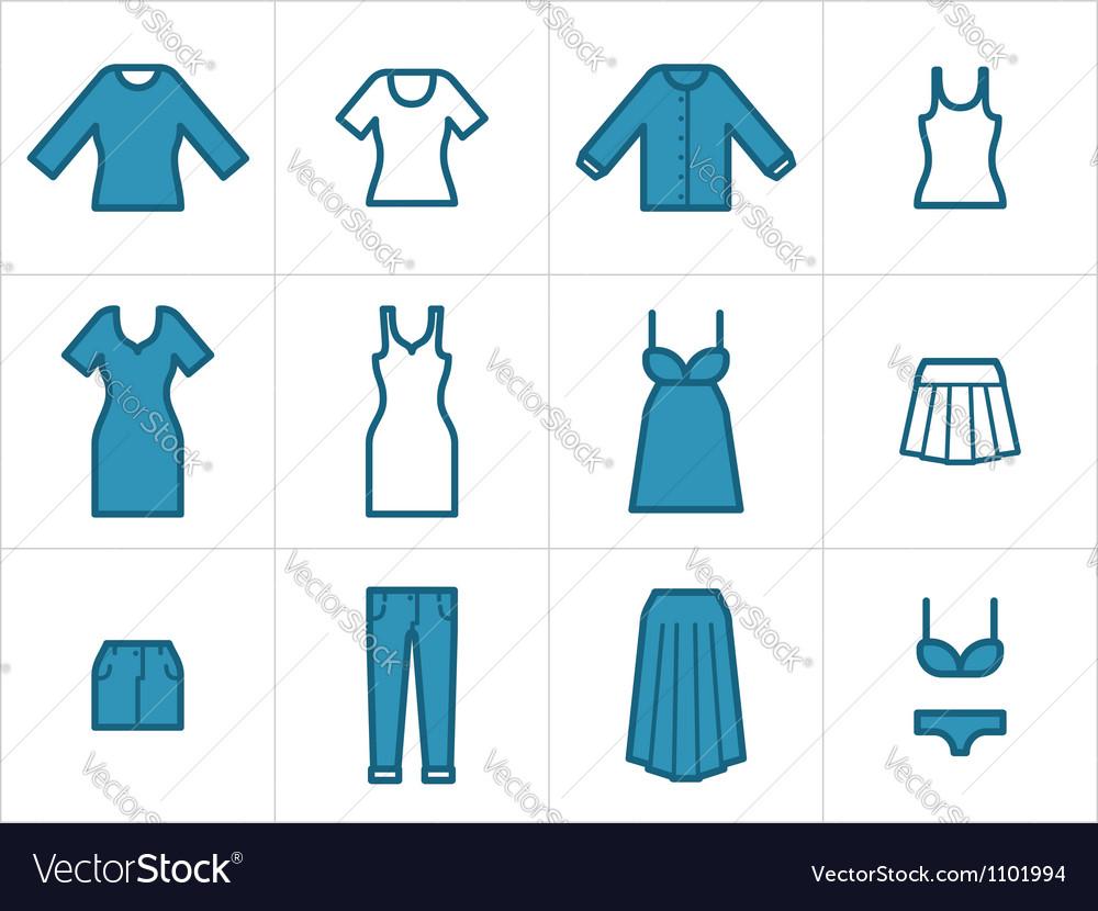 Clothing Icons Set 2
