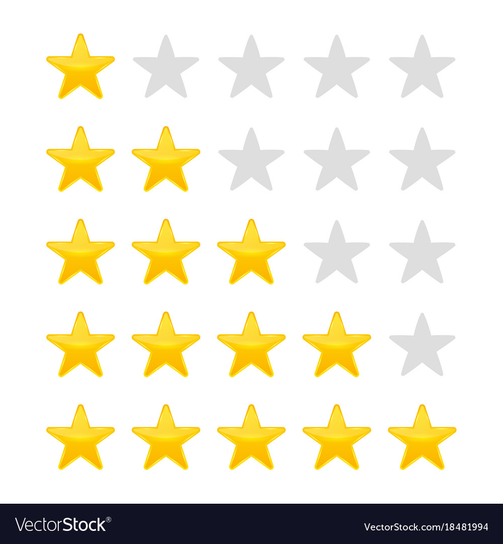 Creative of star rating vote