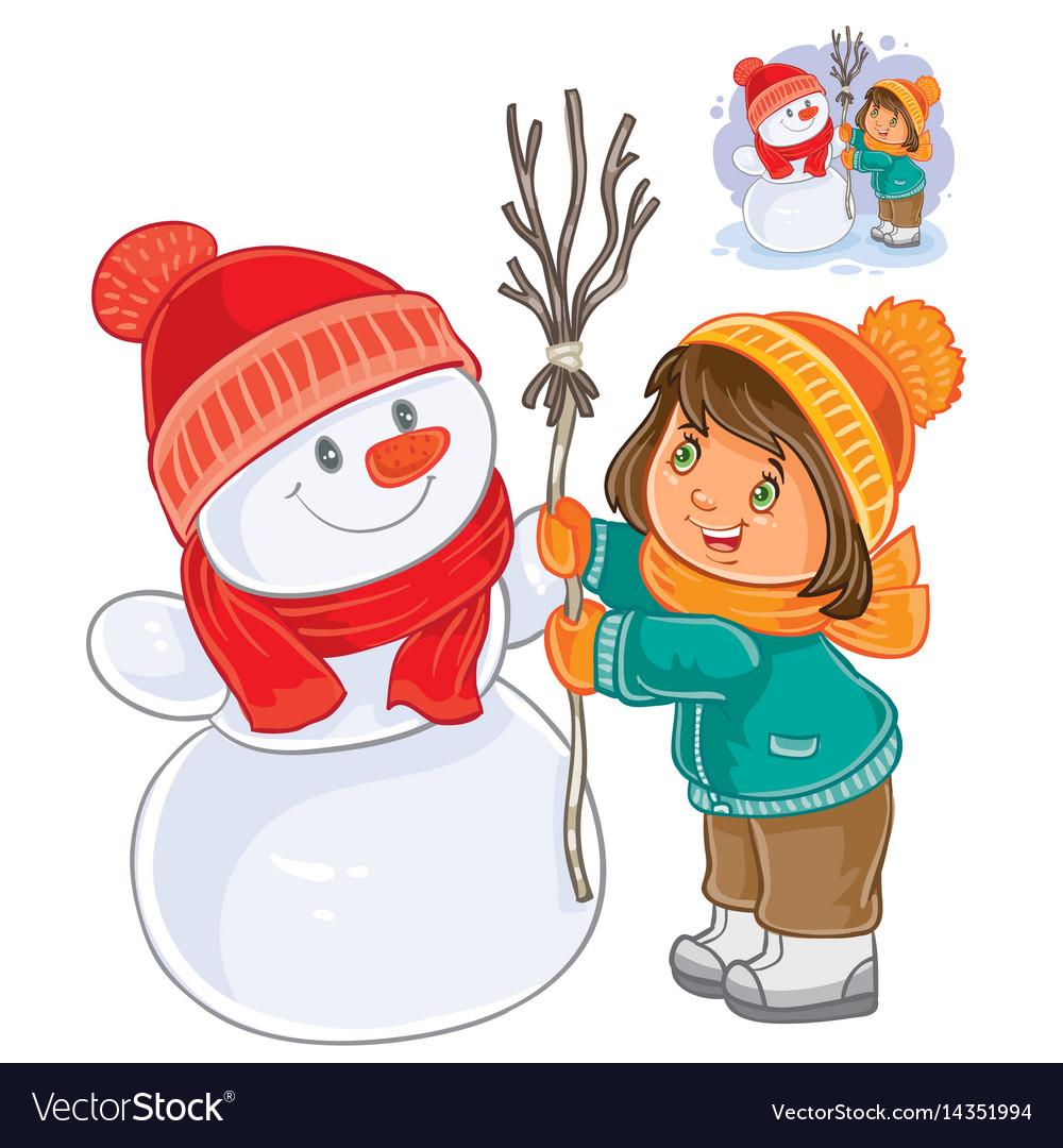 Дети играют зимой картинки для детей на прозрачном фоне