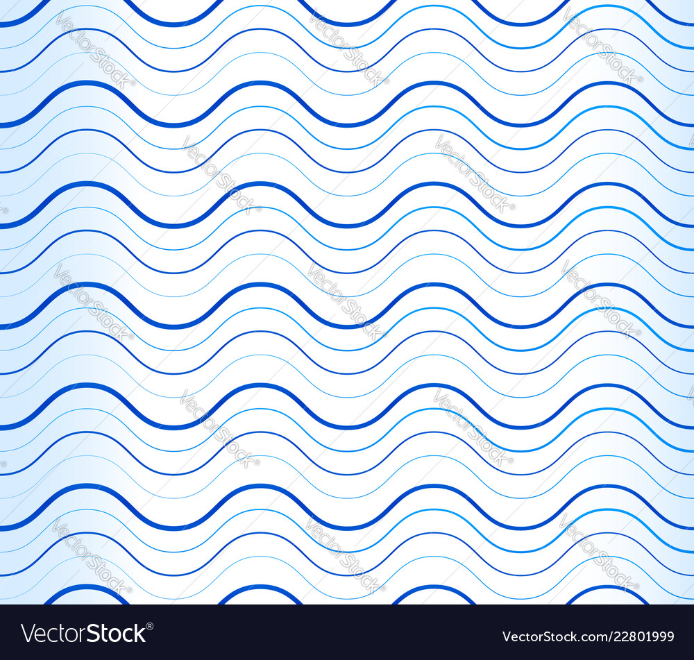 Abstract background pattern with wavy waving blue
