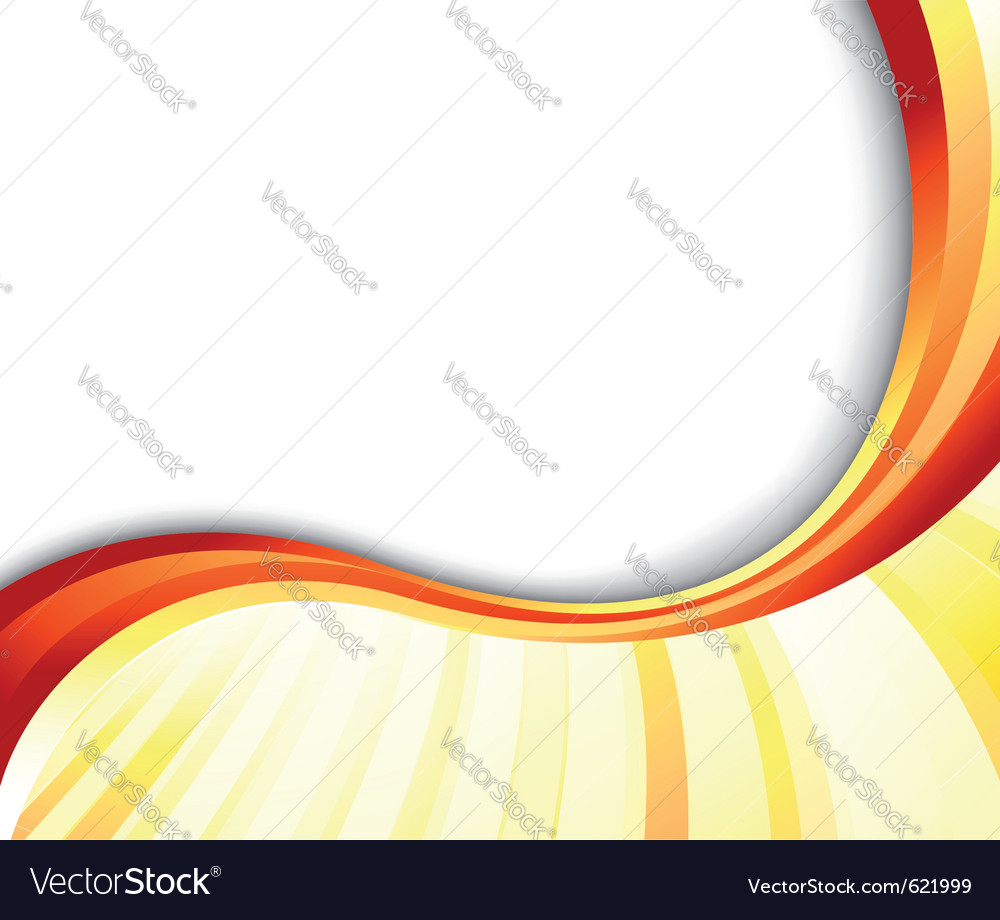 Abstract summer ray banner