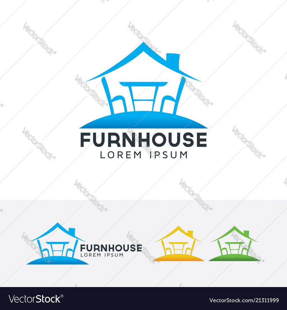 Furniture house logo design
