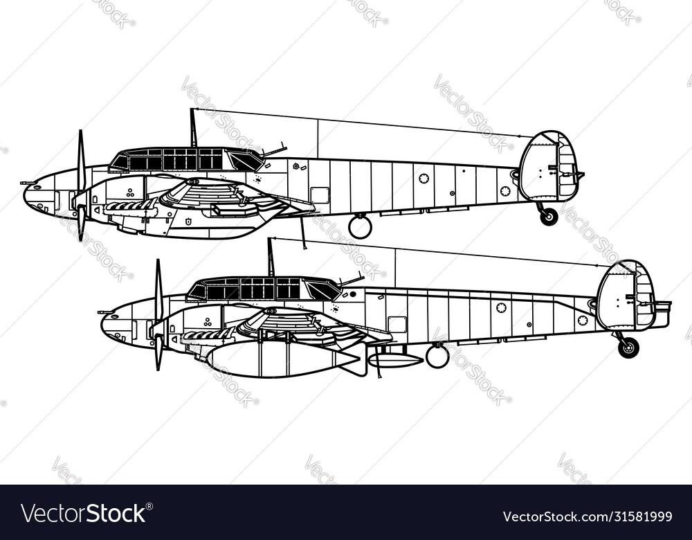 Messerschmitt bf 110c-d