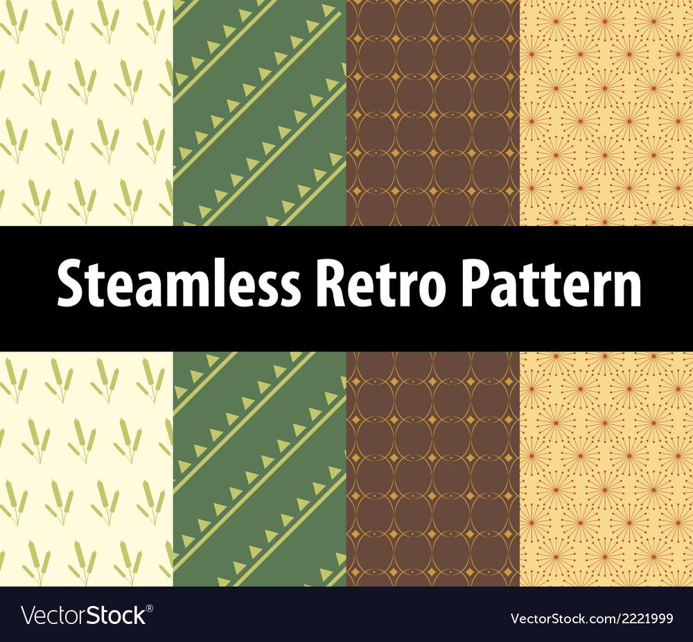 Steamless Retro pattern