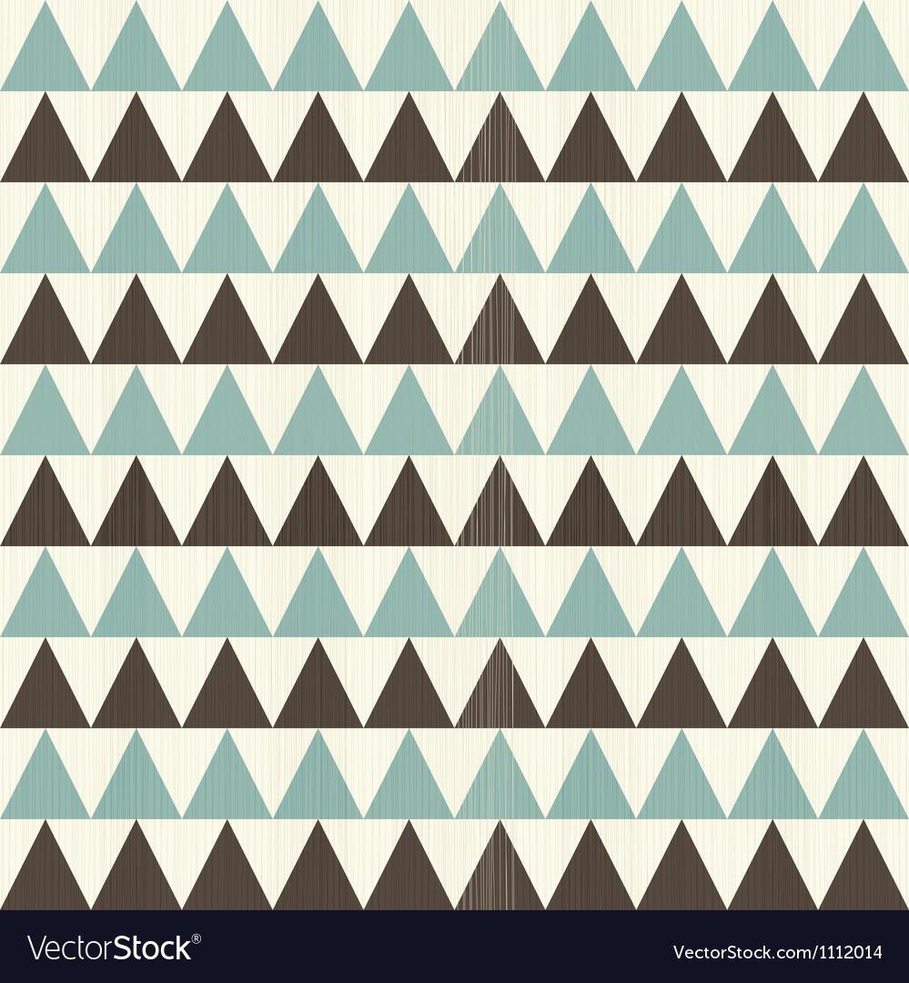 Triangular rows vector image