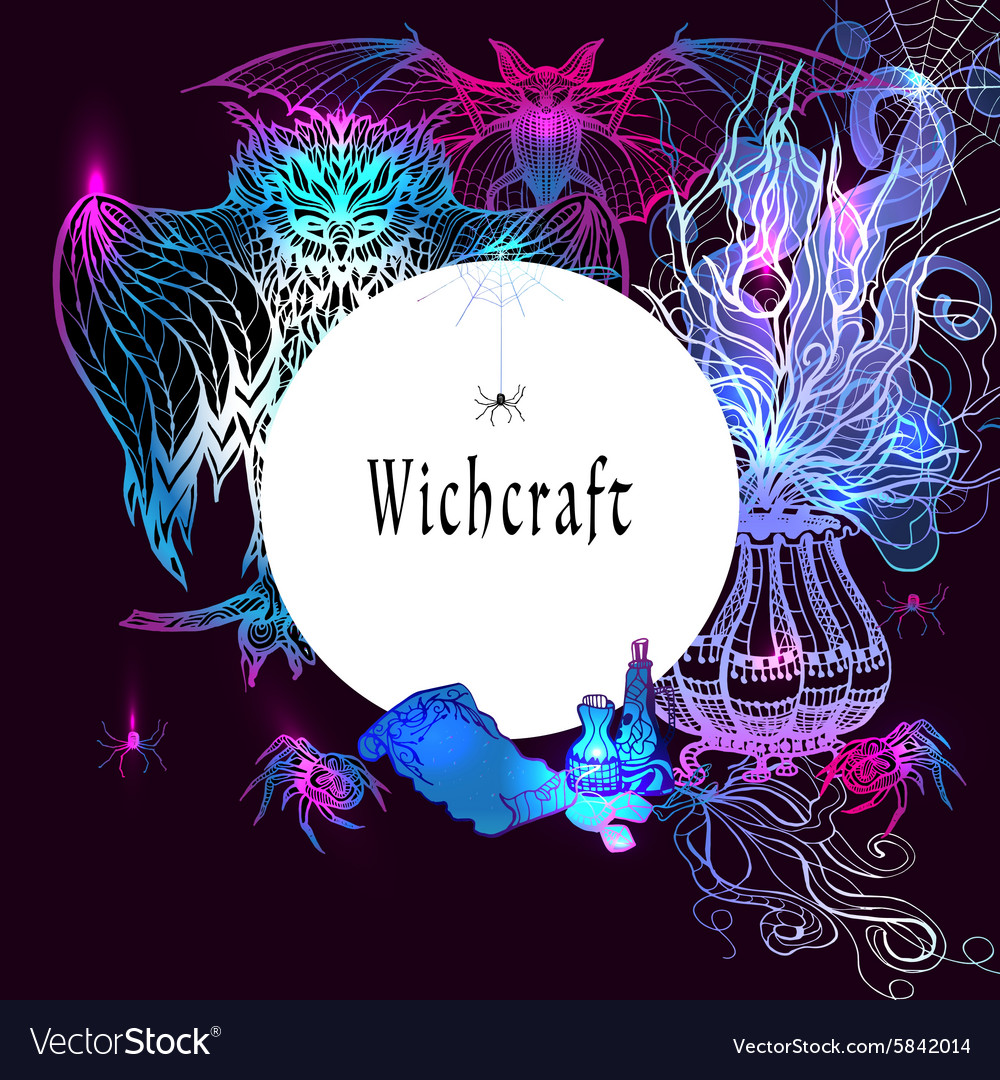 Vintage Witchcraft Frame