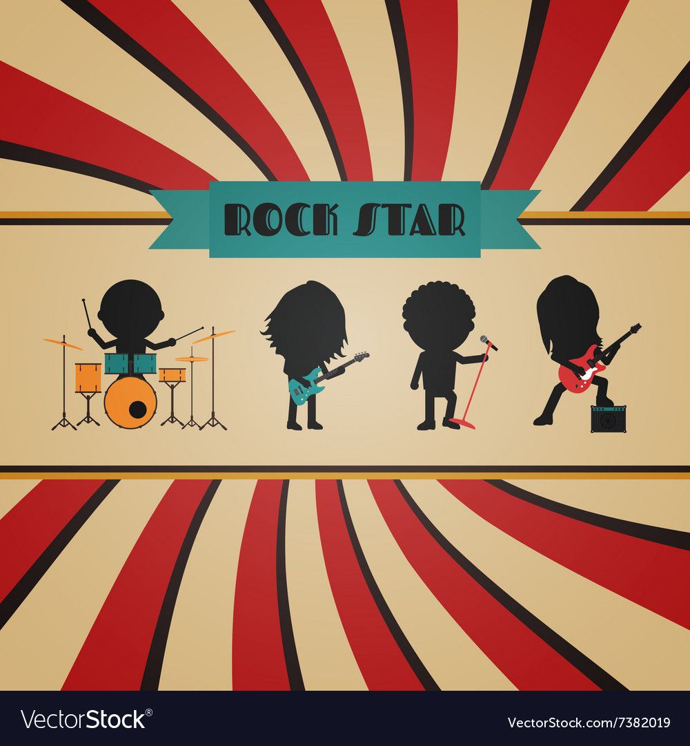 198retro rock band