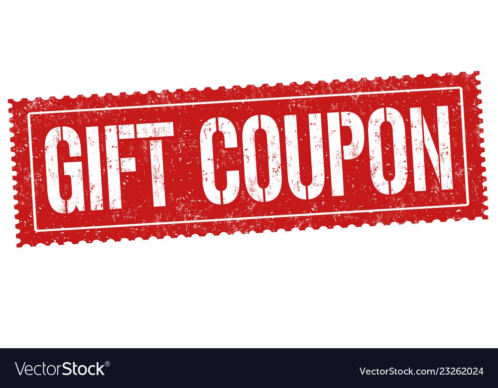 Stamp coupon