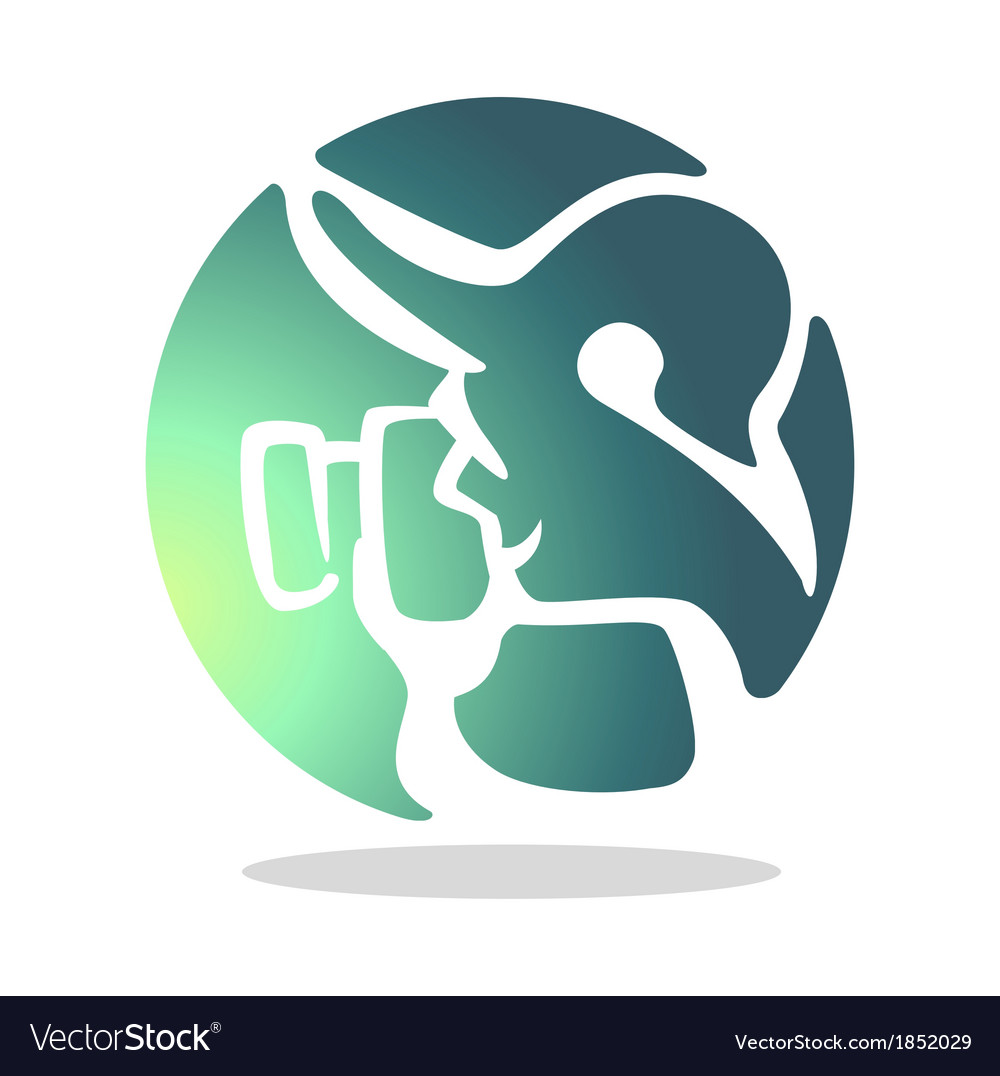 Photo Logo Royalty Free Vector Image Vectorstock