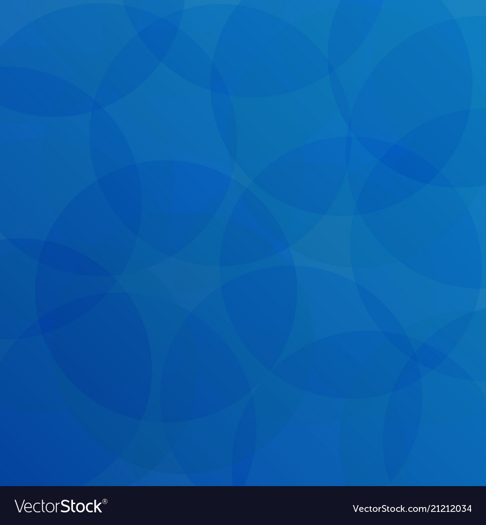 Abstract of blue circle pattern background