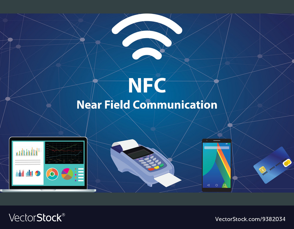 Nfc near field communication with tools technology