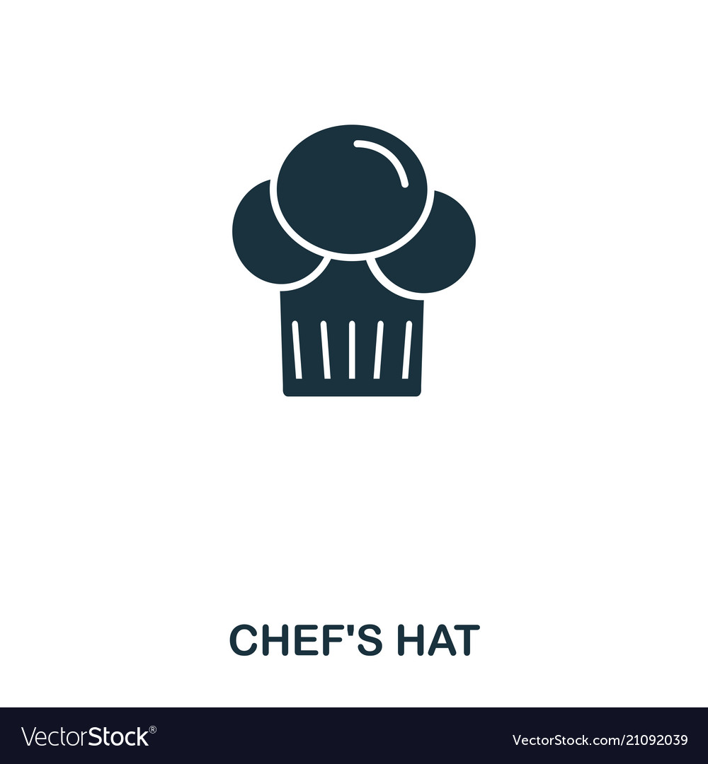 Chef hat icon mobile apps printing and more
