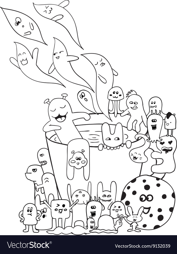 Coloring pages for adults coloring book Black and