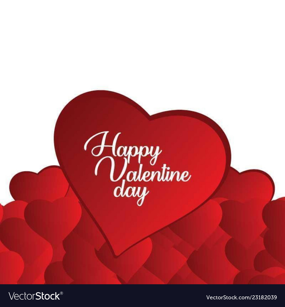 Valentines Day Special Design For Your Love Vector Image