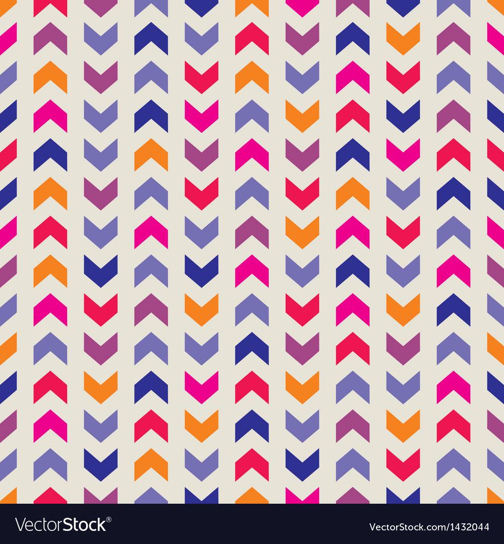Aztec Chevron seamless colorful pattern background