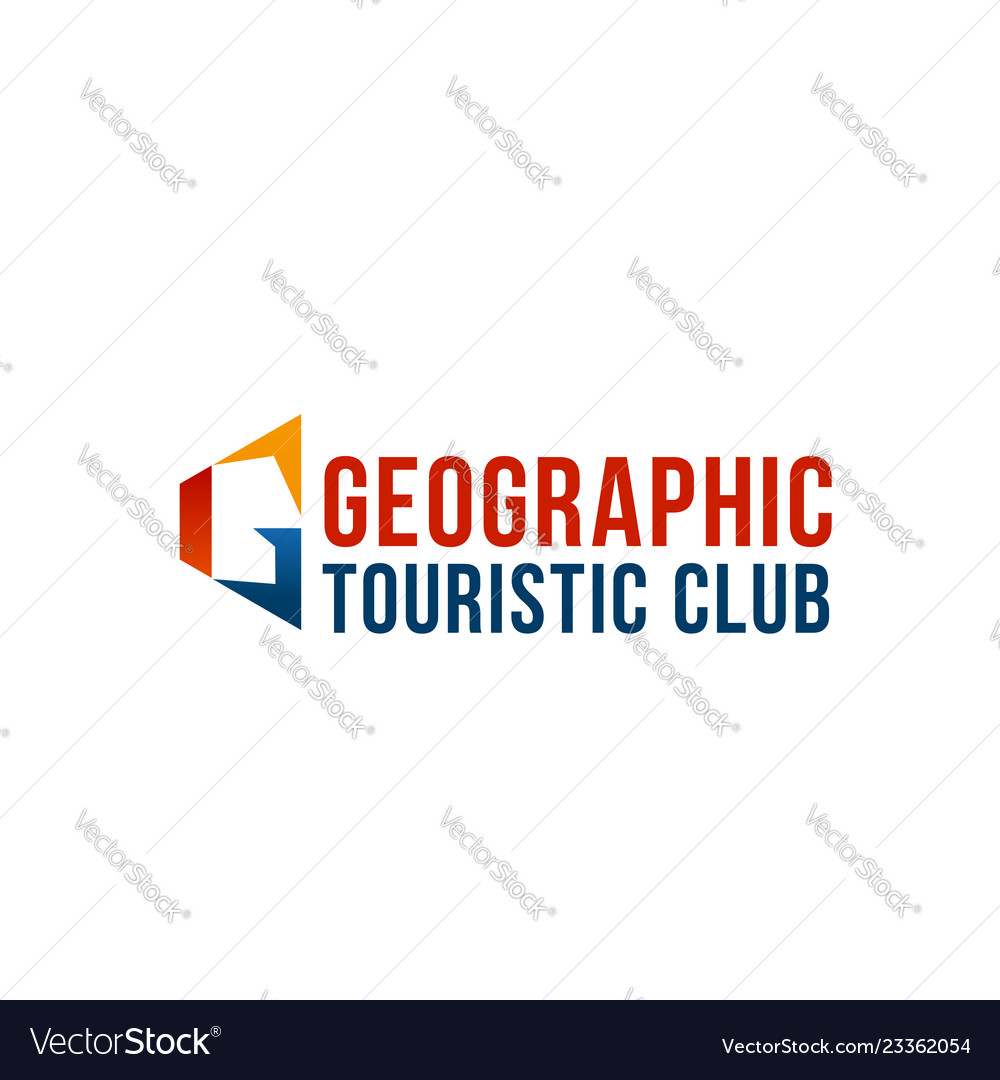 Geaographic touristic club emblem
