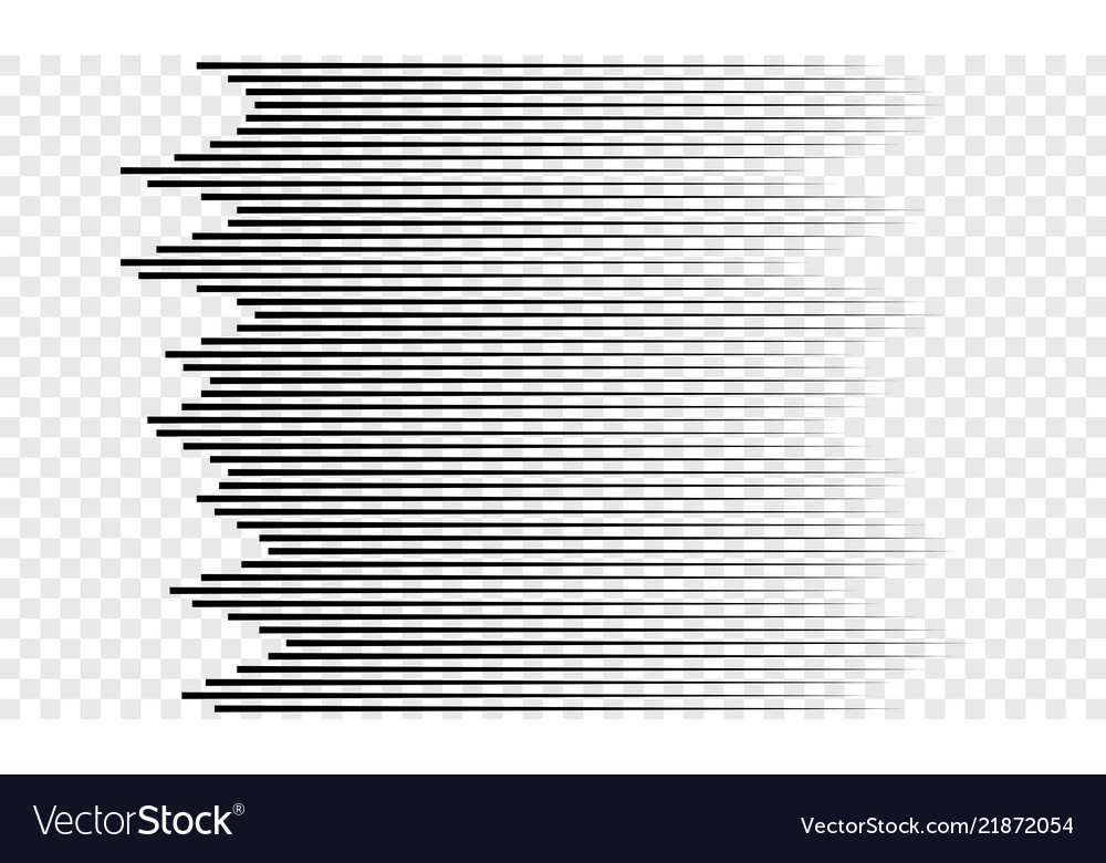Horizontal speed lines pattern background