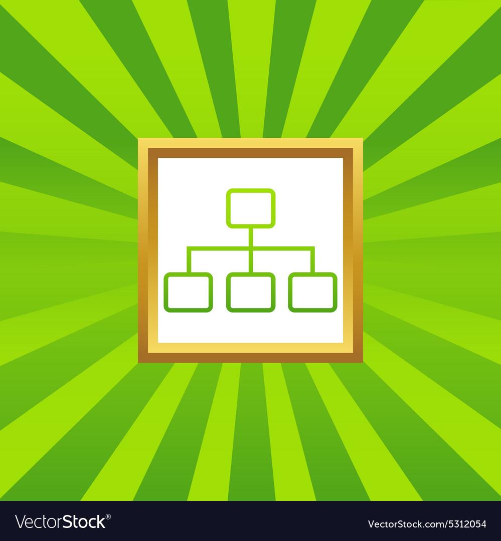 Scheme picture icon