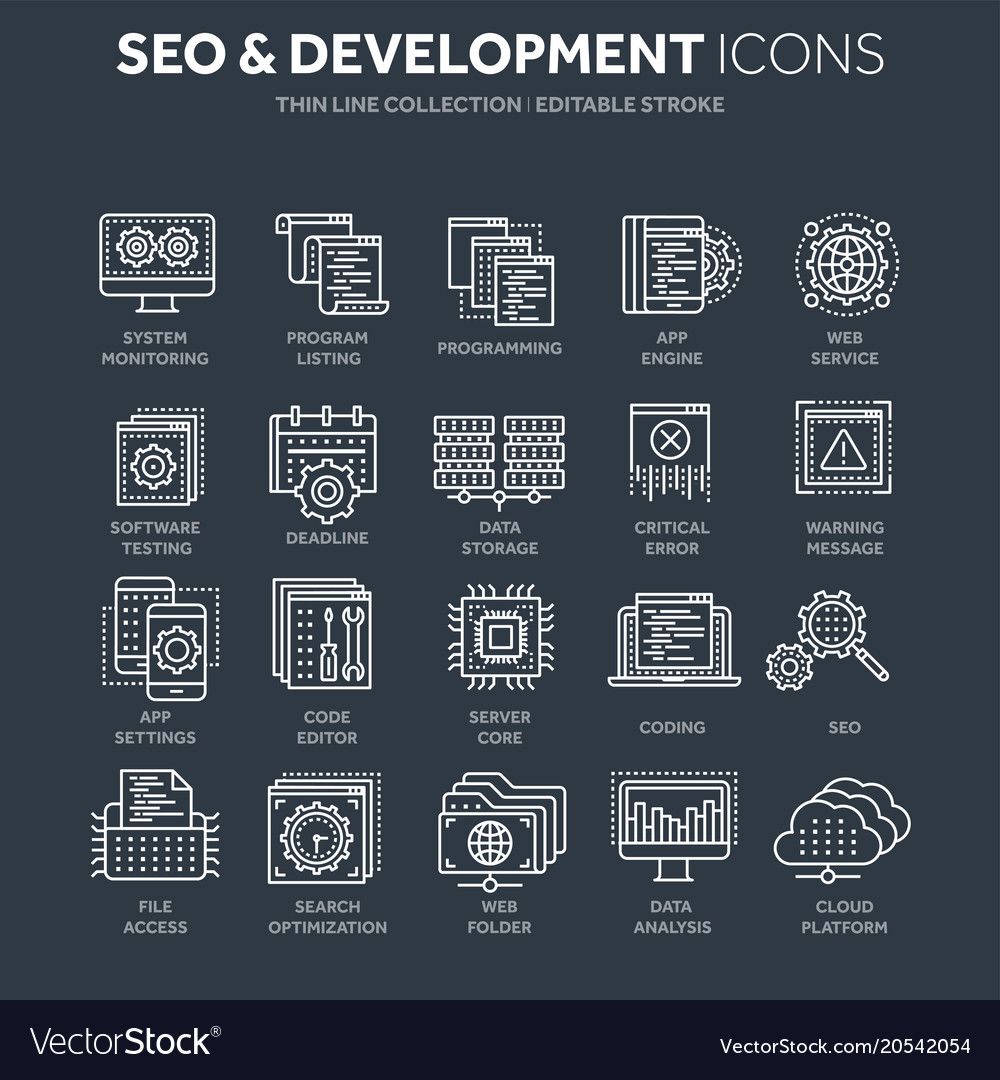 Seo and app development search engine