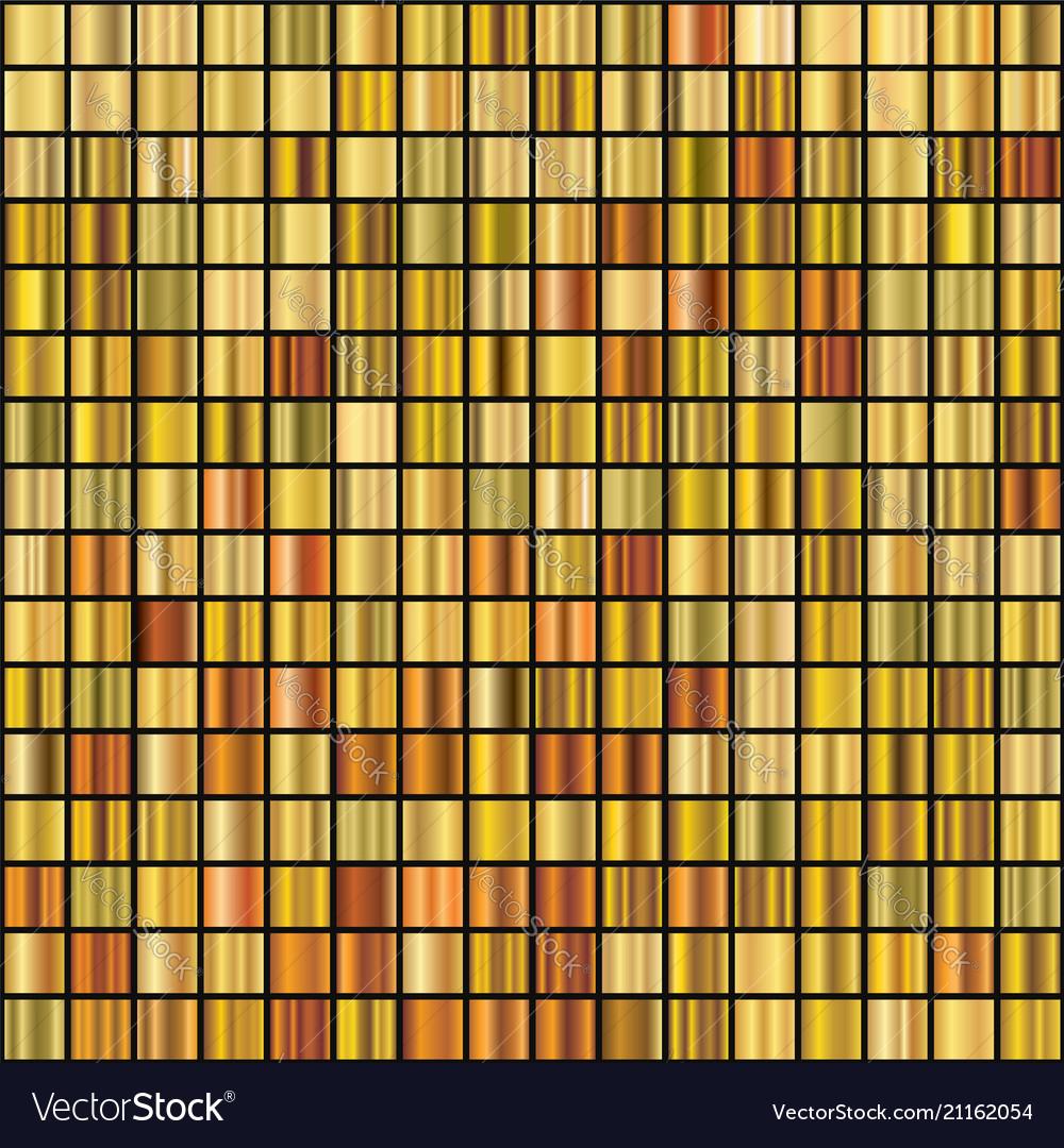 Set of 256 unique gold gradient backgrounds