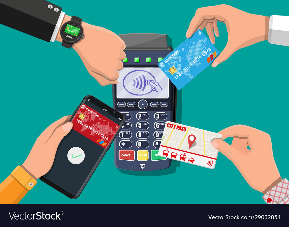 Wireless contactless or cashless payments